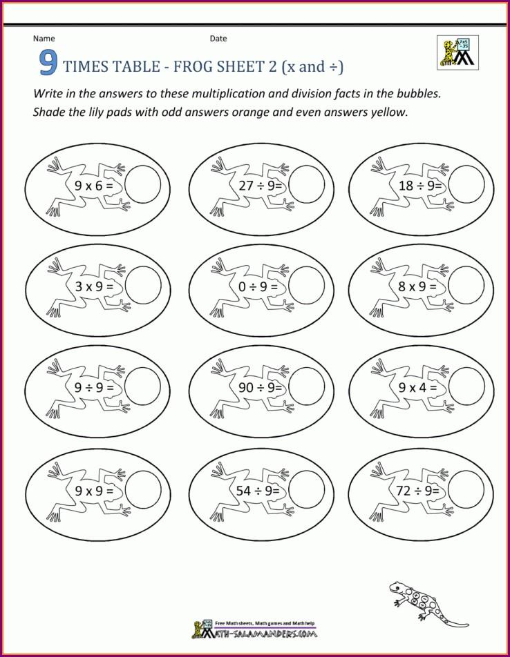 Multiplication Worksheet Generator Free