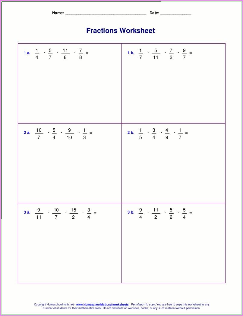 Multiplication Worksheet Grade 7 Pdf