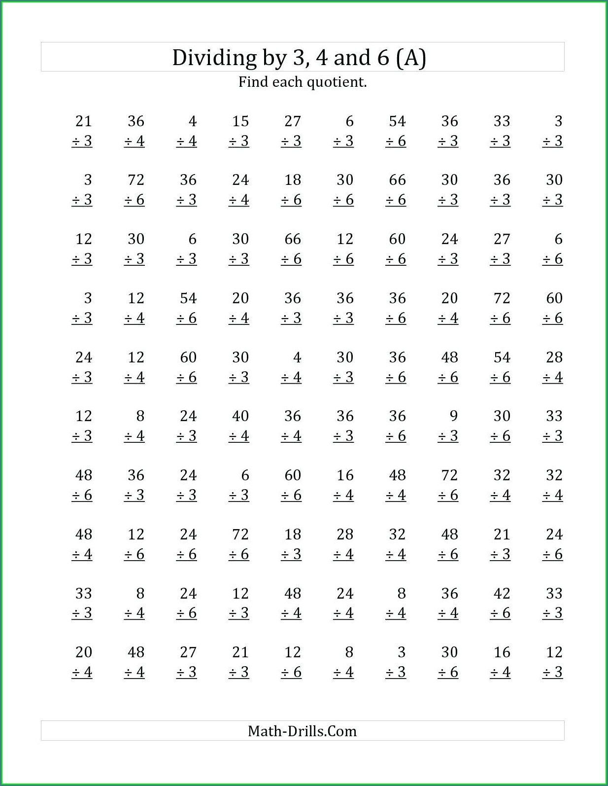 Multiplication Worksheet With Zeros