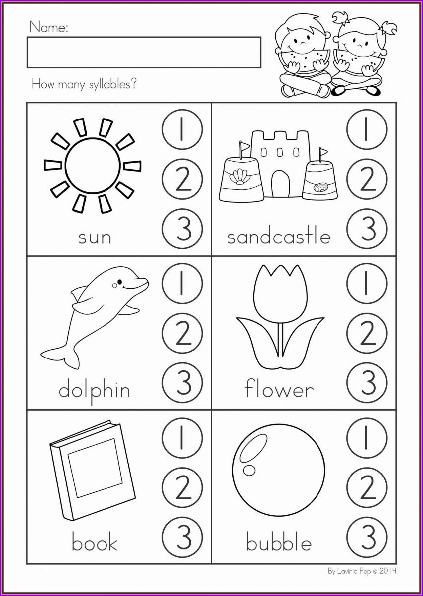 Number Bonds Worksheets Kindergarten