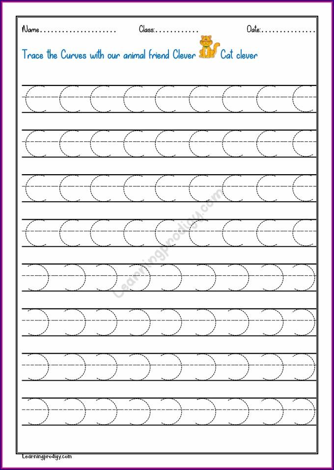 Pattern Writing Worksheet Pdf