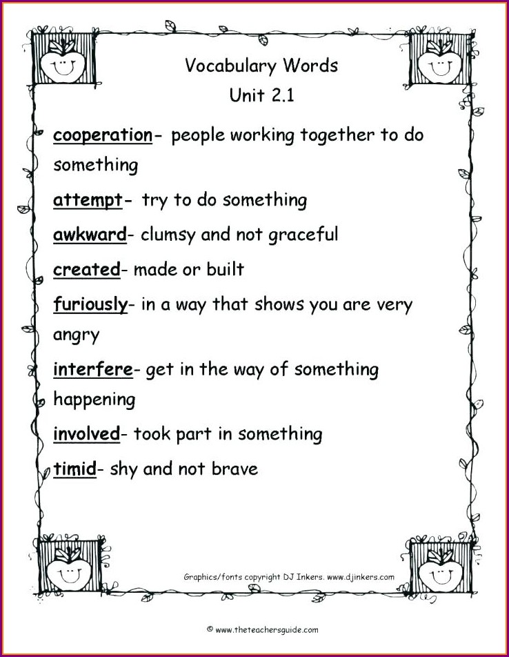 Pdf Comprehension Worksheets For Grade 5