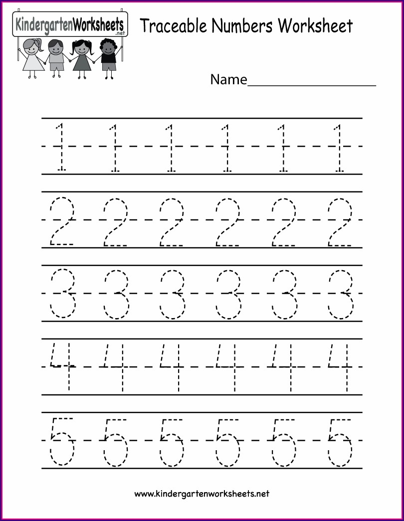 Printable Learning Numbers Worksheets For Toddlers