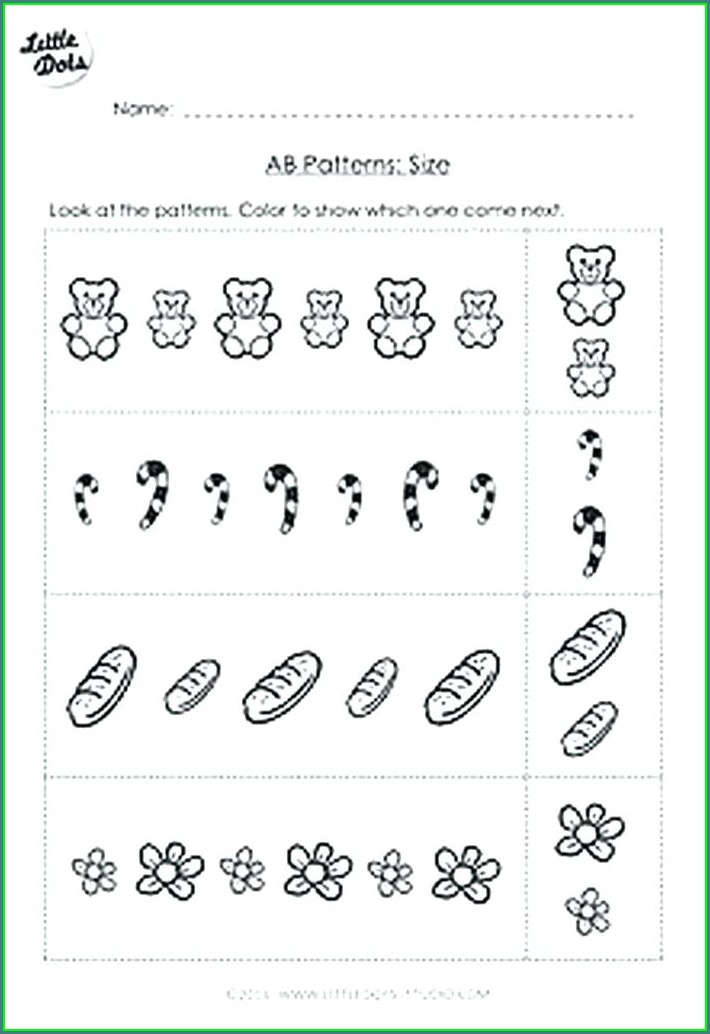 Printable Math Worksheets For Pre K