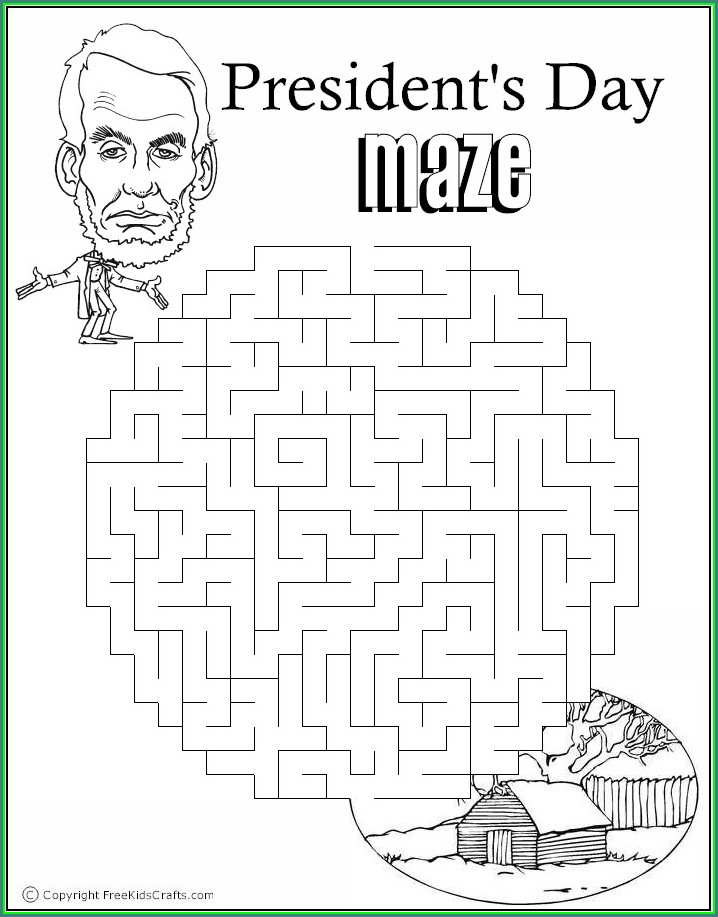 Printable Presidents Day Word Search Pdf