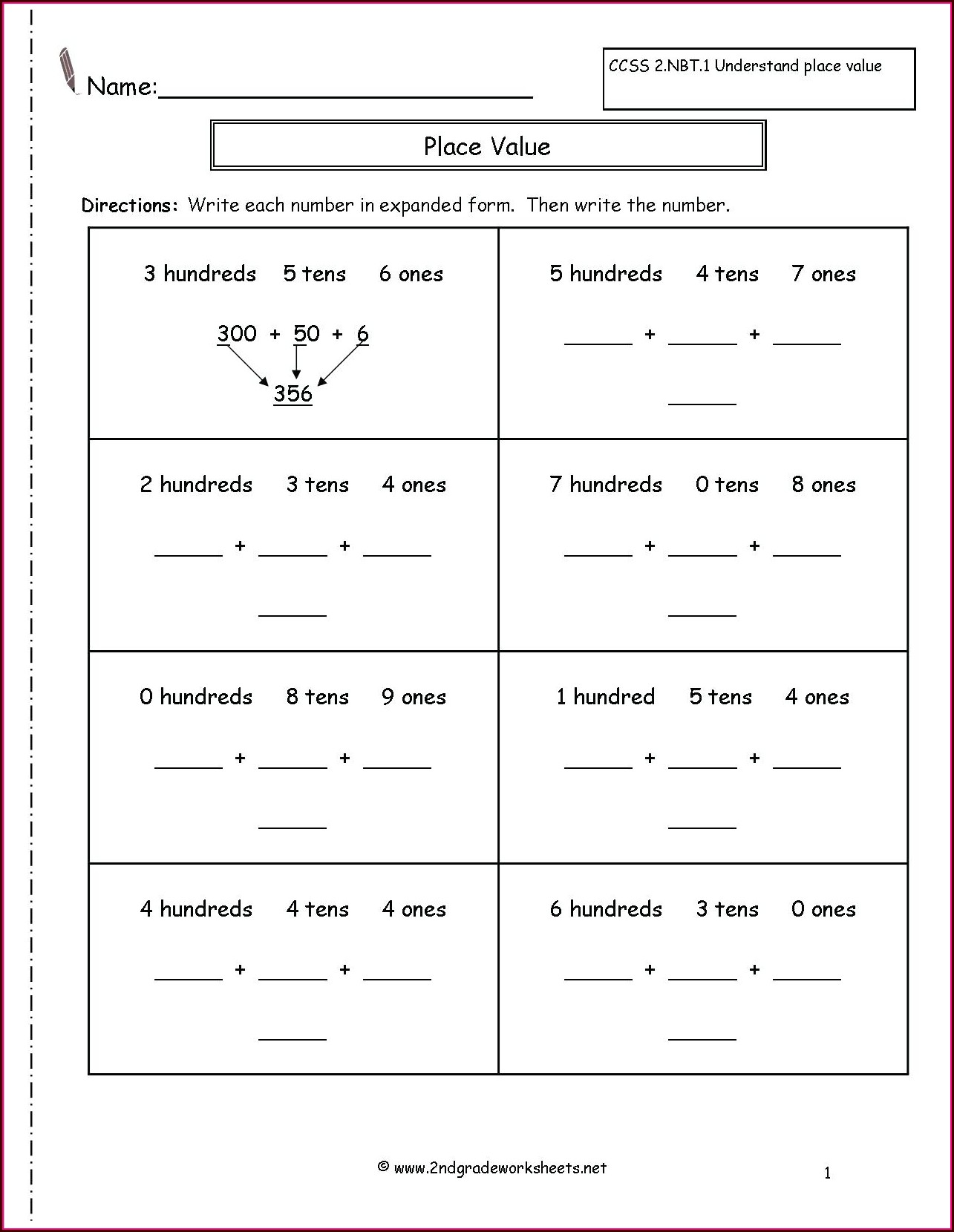 Printable Worksheets For 5th Grade