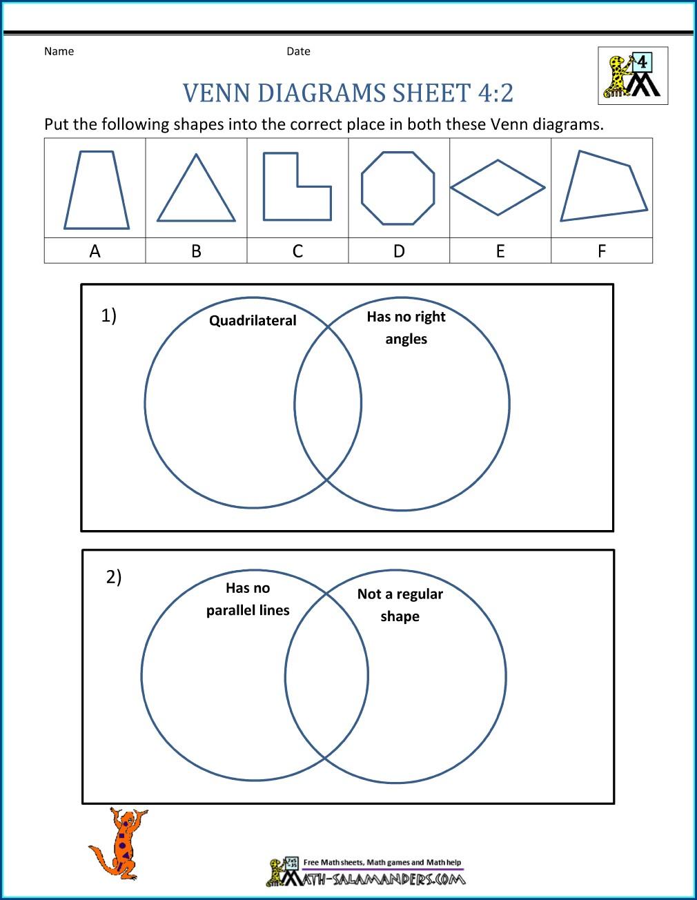 Reading A Diagram Worksheet 2nd Grade