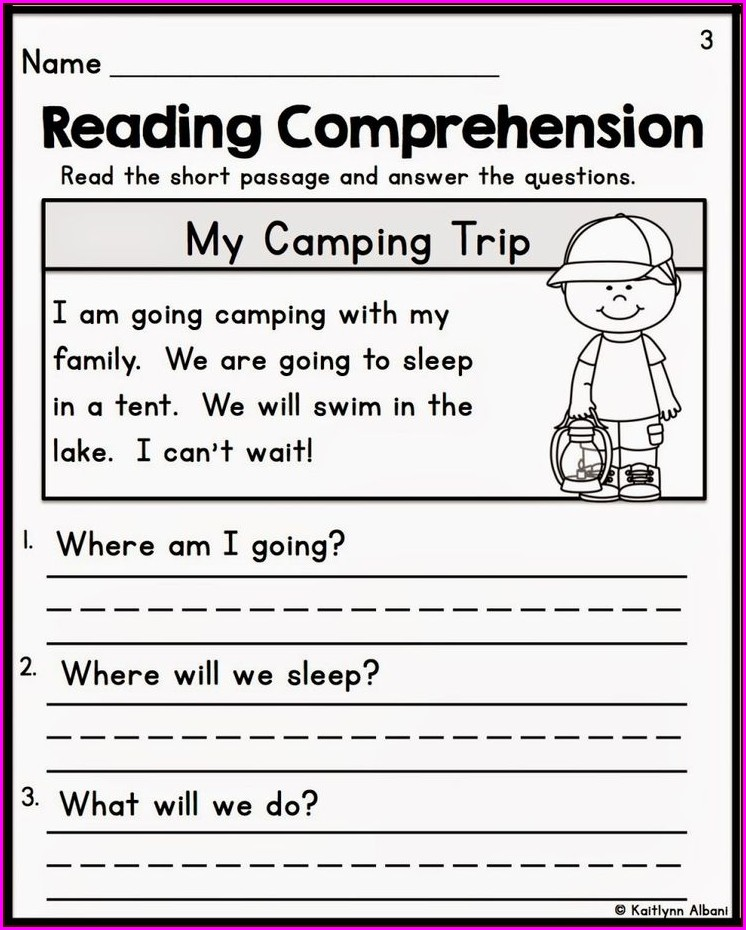 Reading Comprehension Worksheets 5th Grade Free Printable
