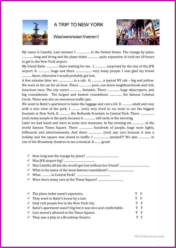 Reading Comprehension Worksheets Upper Intermediate