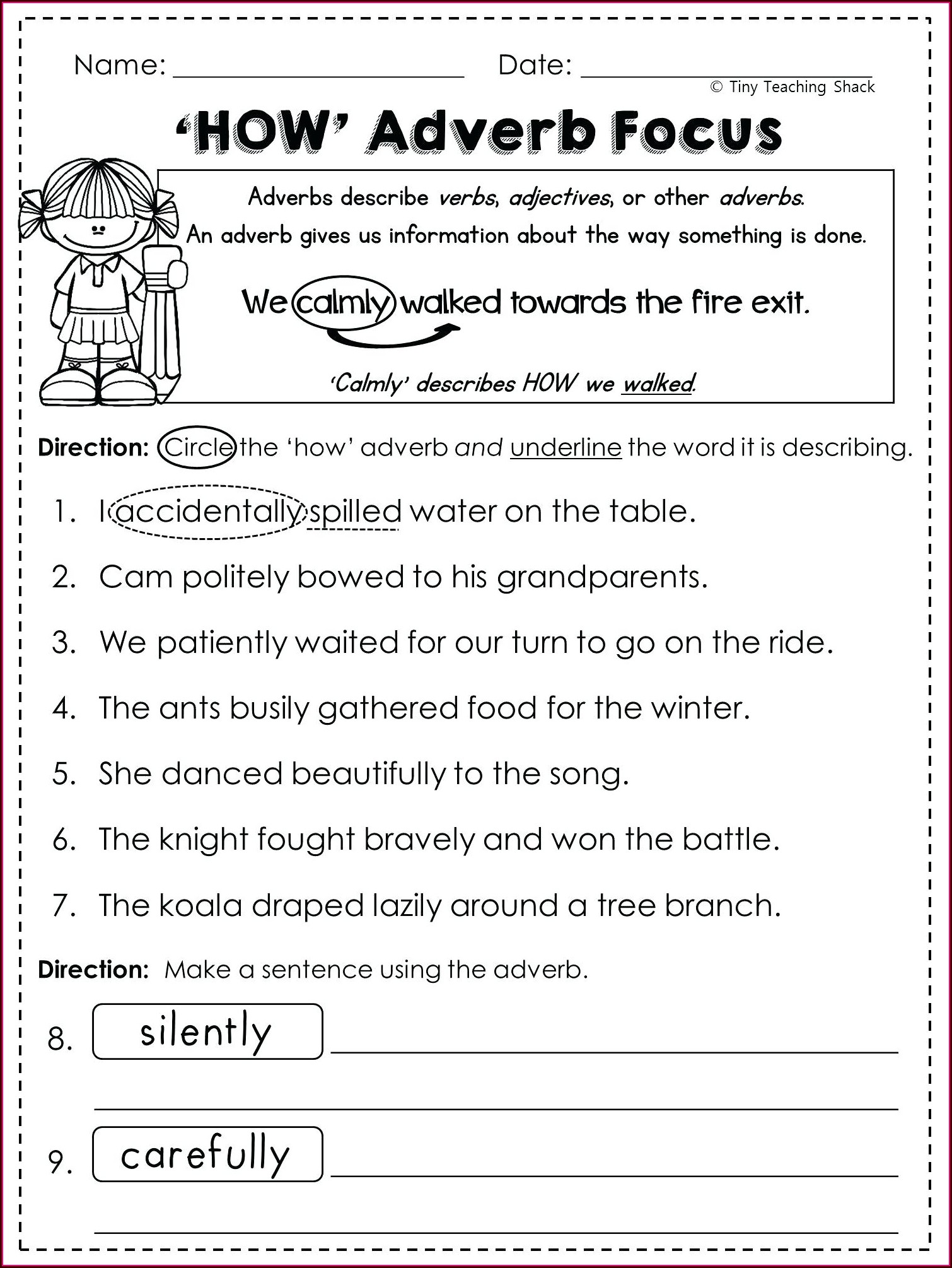 Reading Free Printable Worksheets For 5th Grade