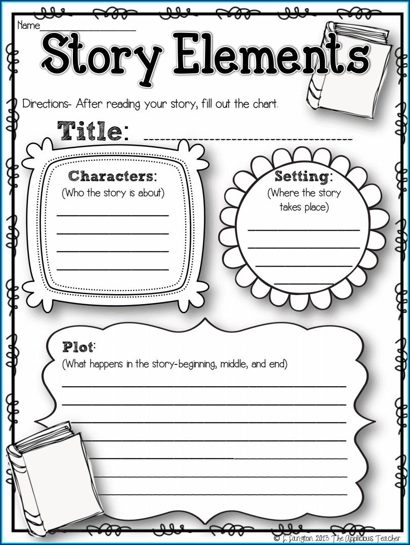Reading Response Worksheet 2nd Grade