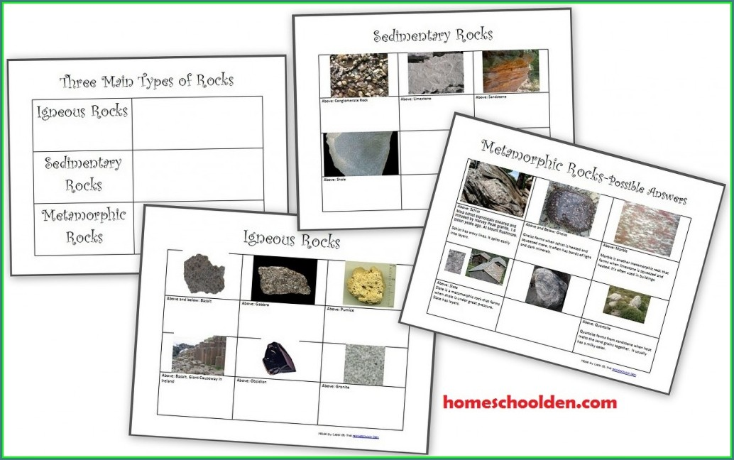 Rock Cycle Worksheet Year 3