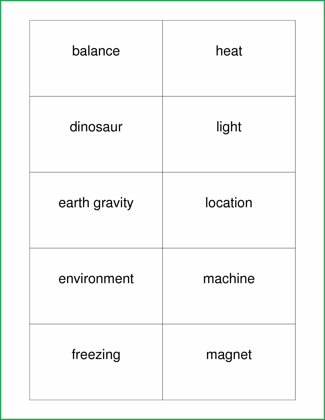 Science Worksheet For 1st Grade