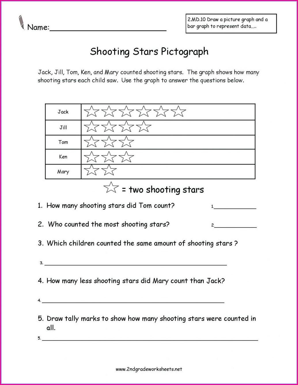 Second Grade Simile Worksheet Grade 2