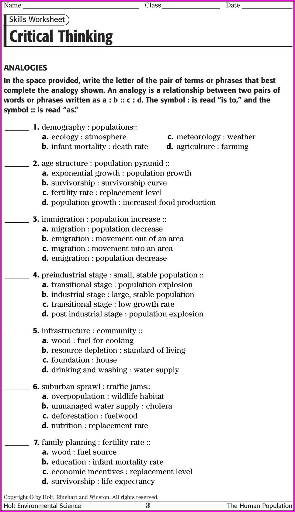 Skills Worksheet Map Skills Disease Distribution Answer Key