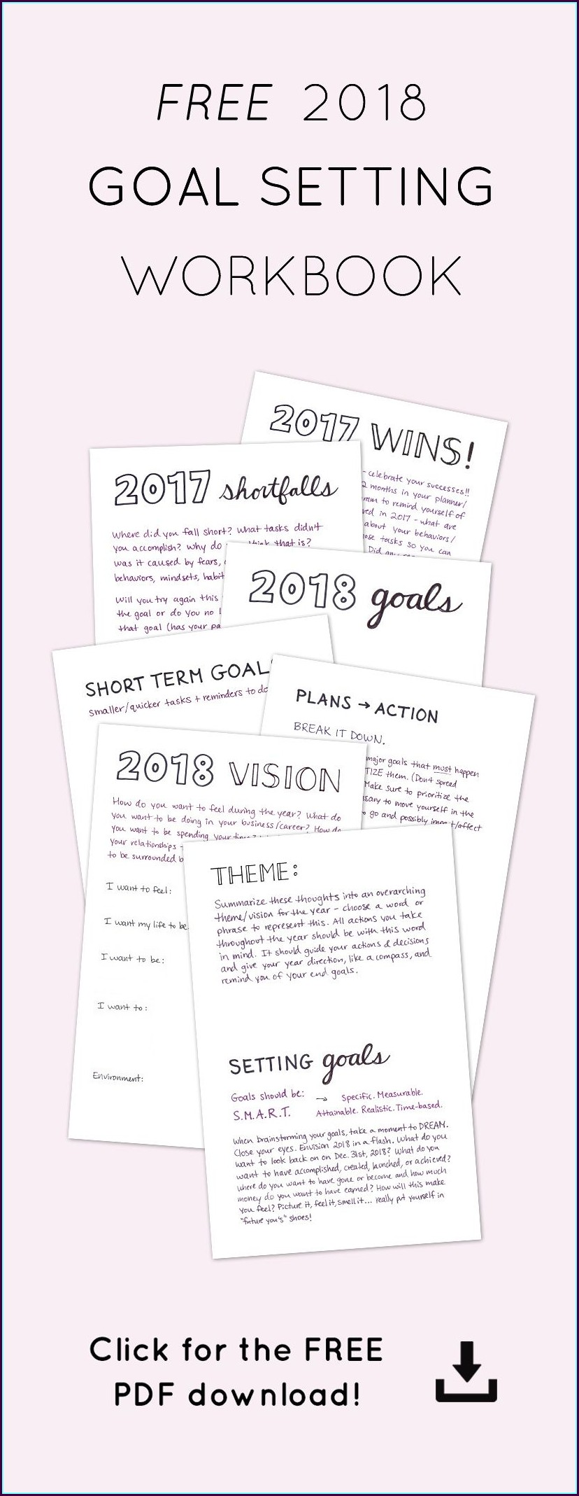 Smart Fitness Goal Setting Worksheet