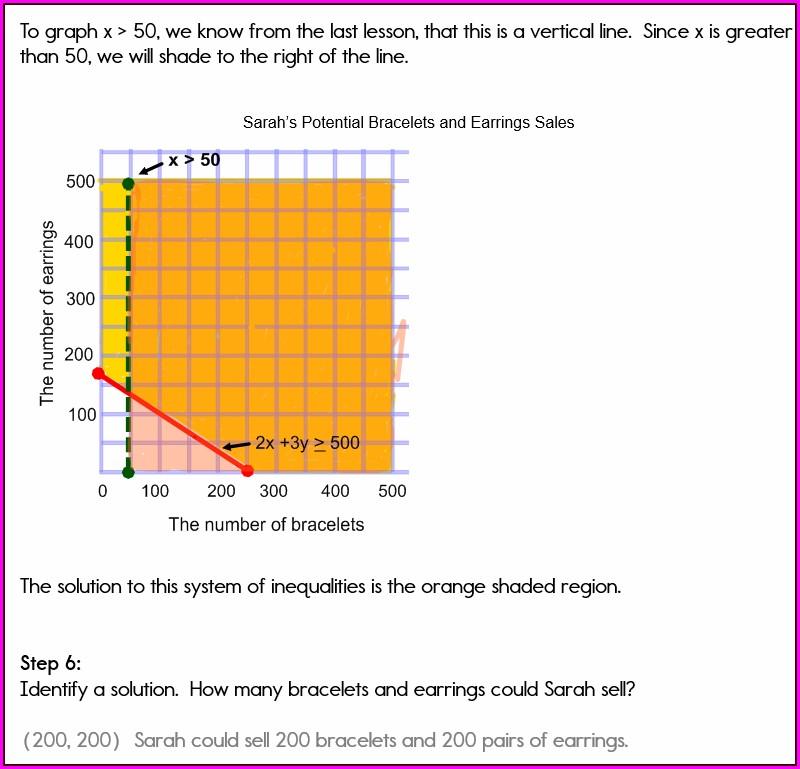 Solve Inequalities Worksheet Online