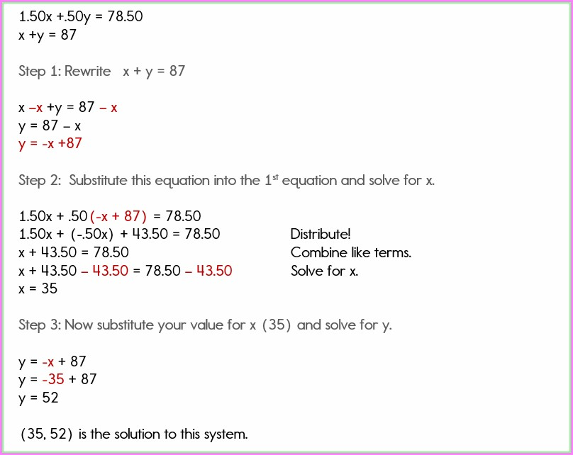 Systems Of Equations Word Problems Cell Phone