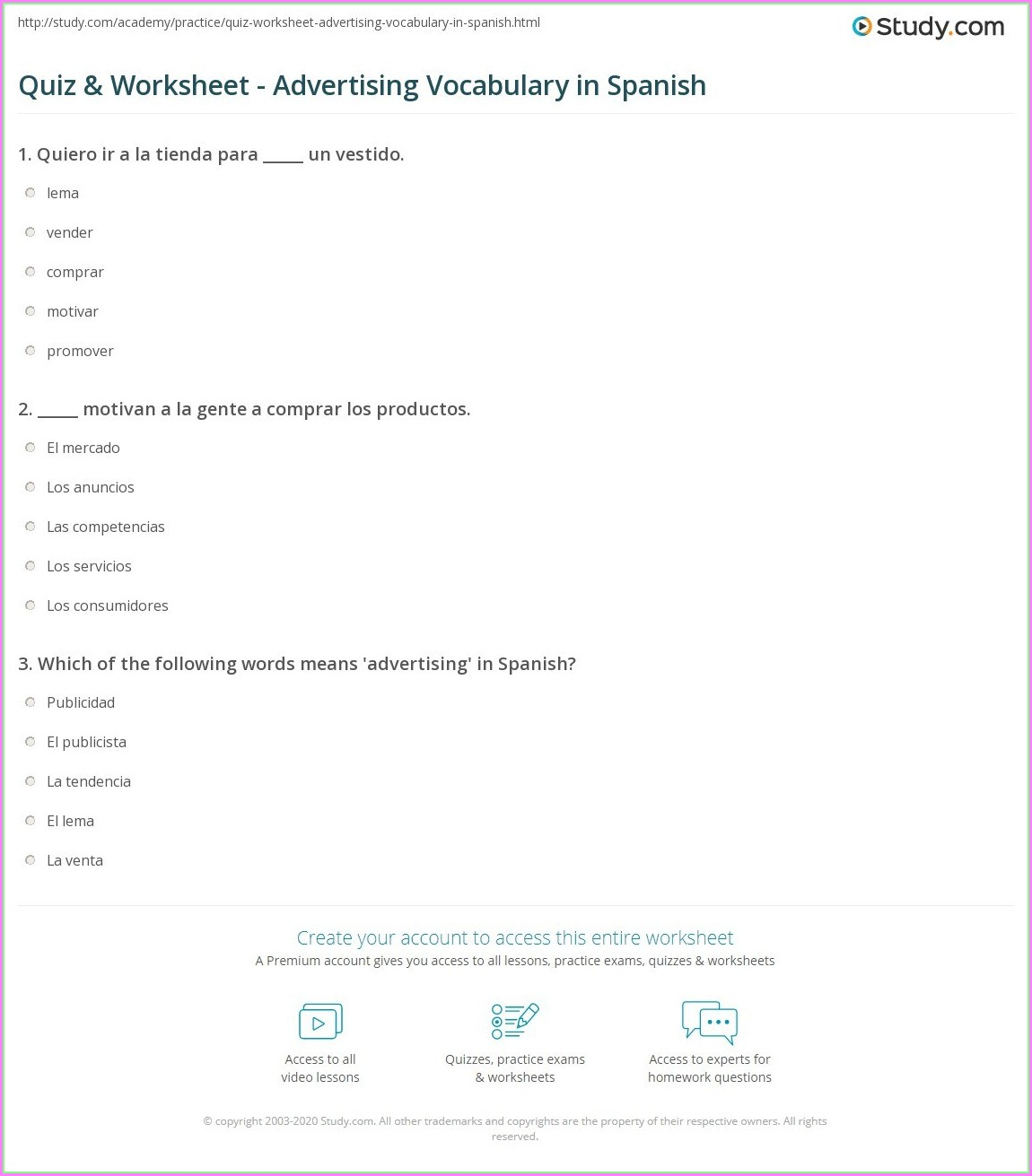 Teaching Time In Spanish Worksheets