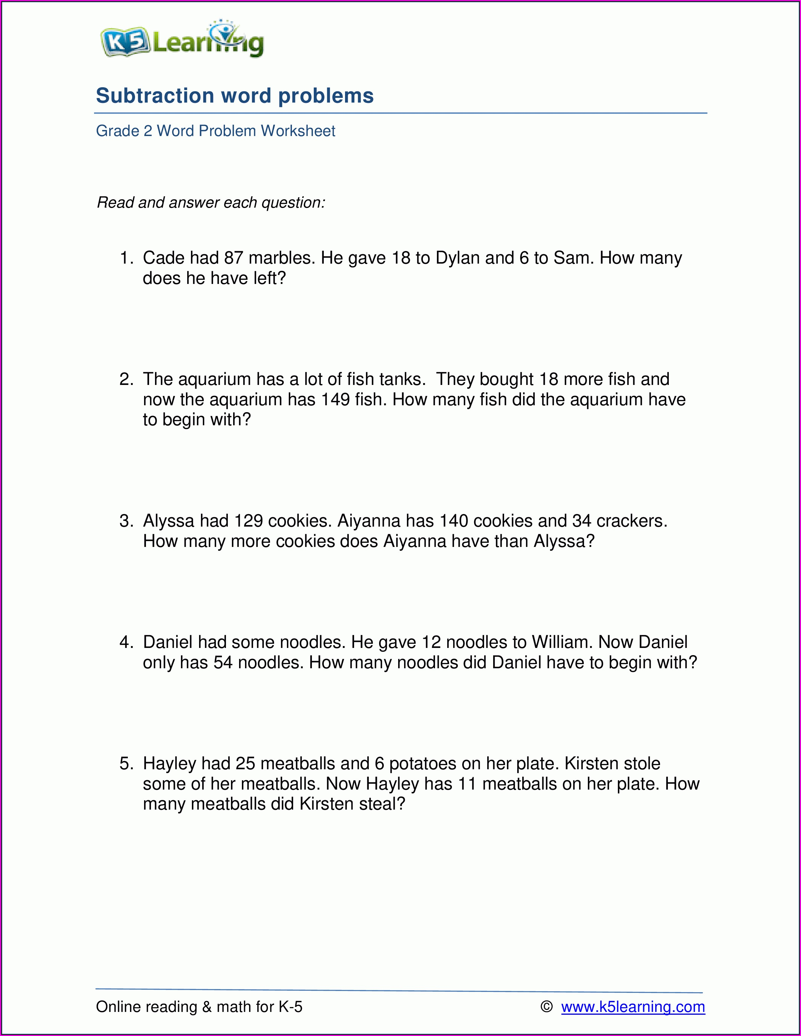 Telling Time Assessment Worksheet