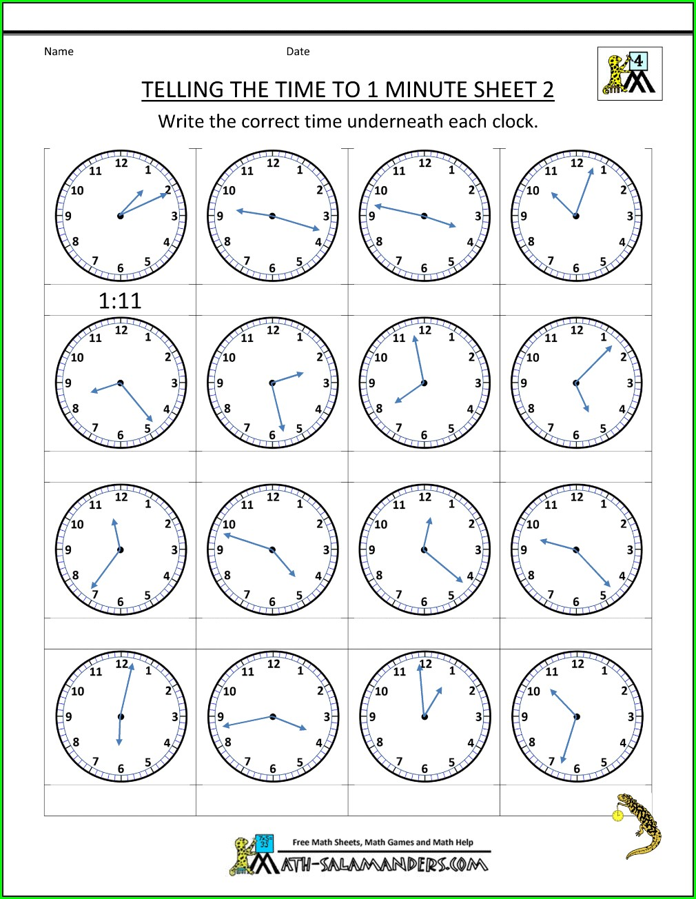 Time Worksheet Ks2 Tes