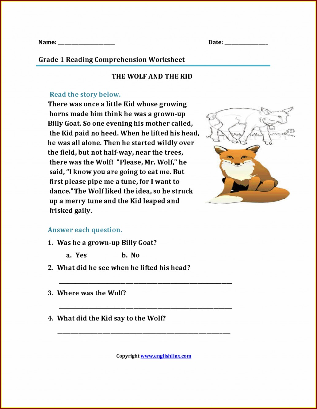 Timeline Worksheet For 1st Grade