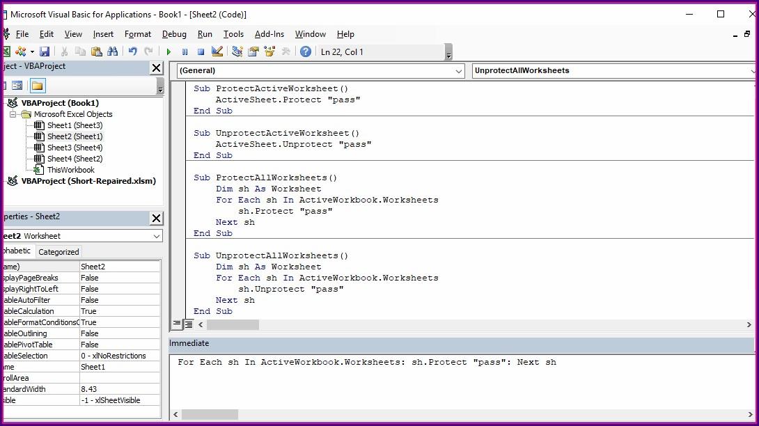 Vba Function Worksheet Parameter