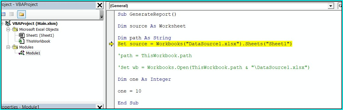 Vba Reference Sheet With Variable