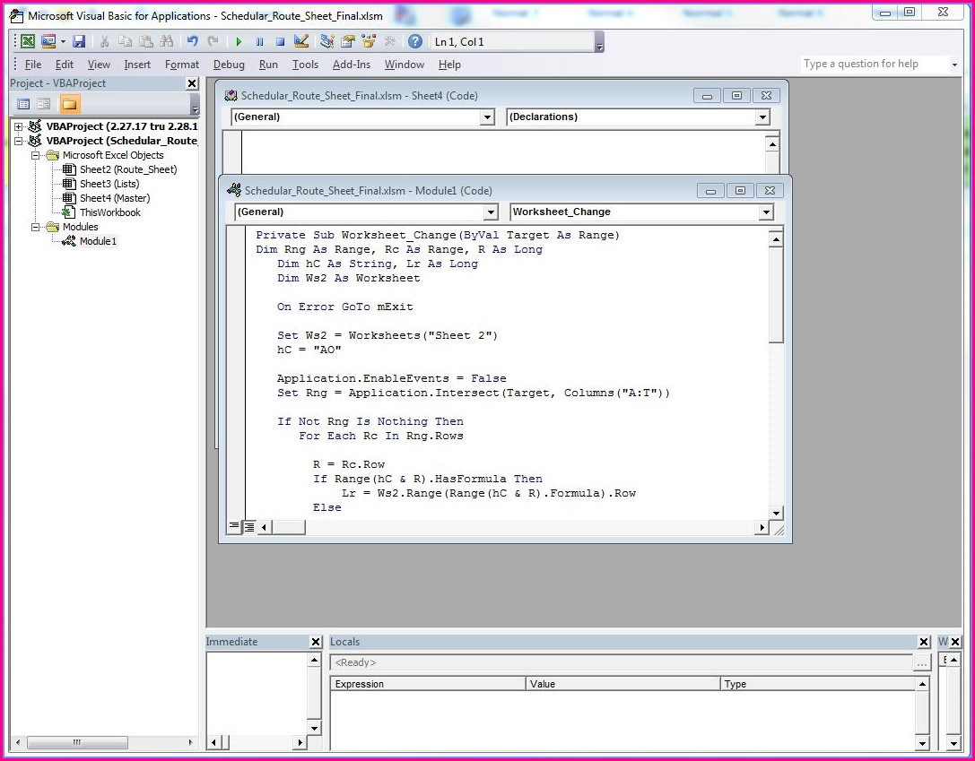 Vba Set Worksheet By Codename