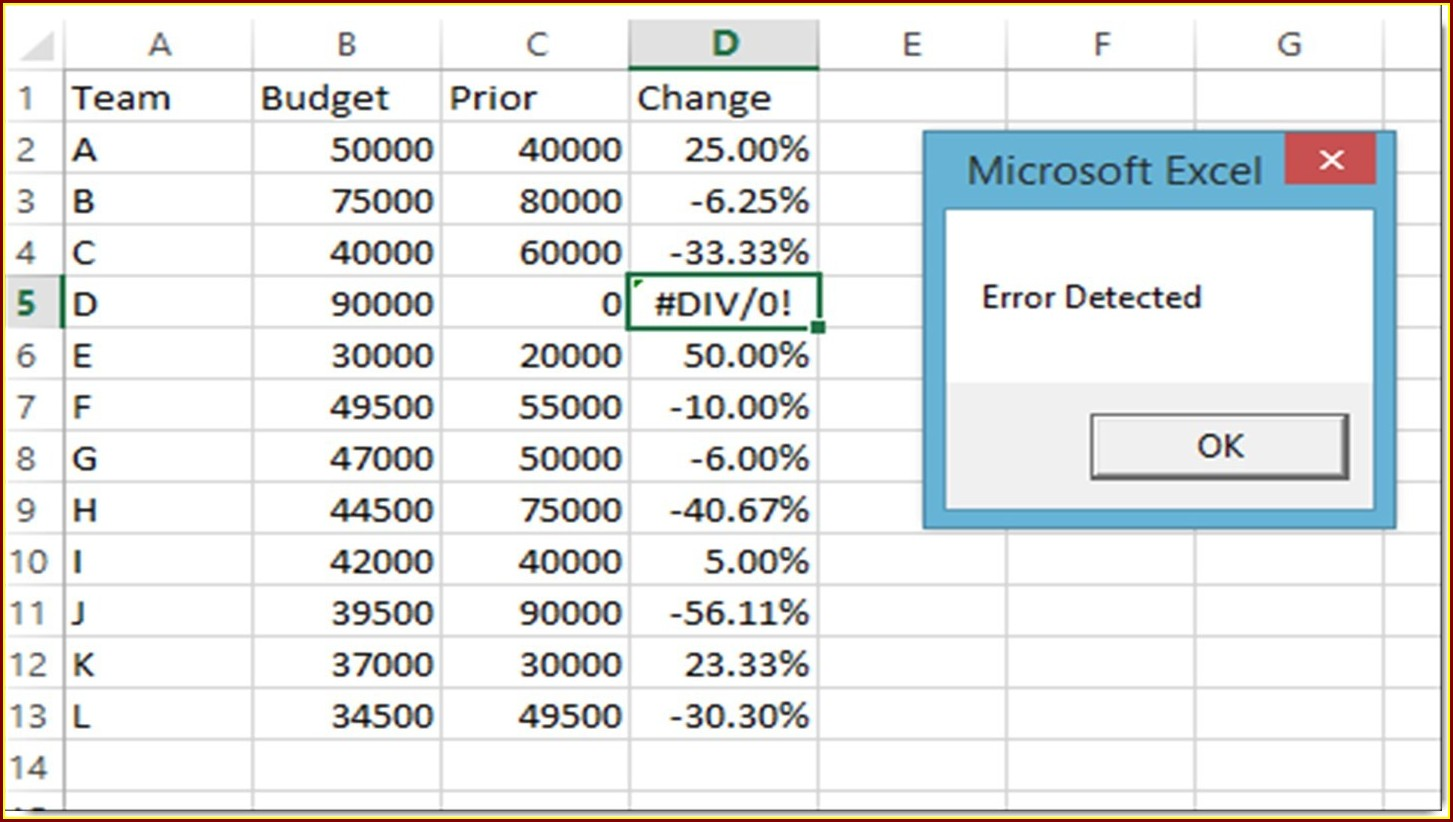 Vba Worksheet Function Error Handling