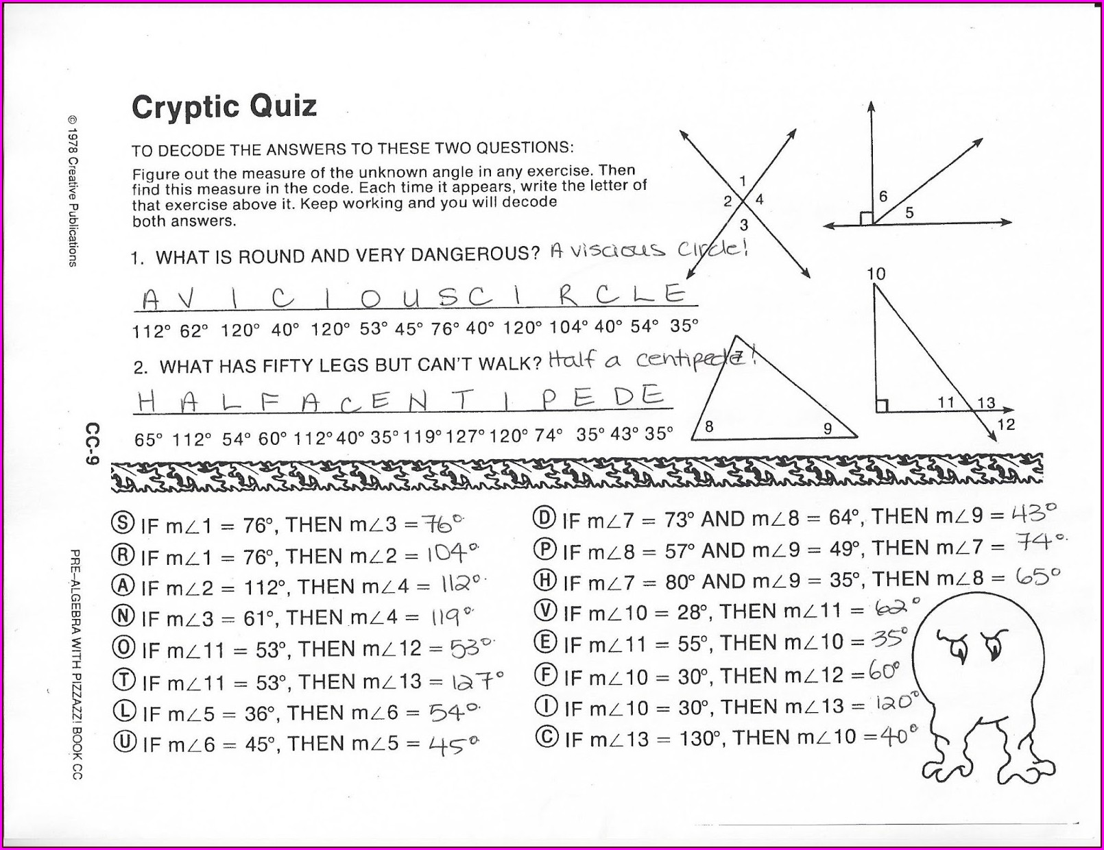 What Is A Metaphor Math Worksheet Algebra With Pizzazz