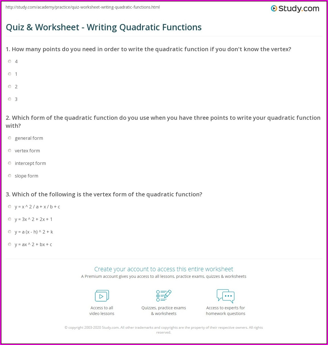 What Is A Metaphor Math Worksheet