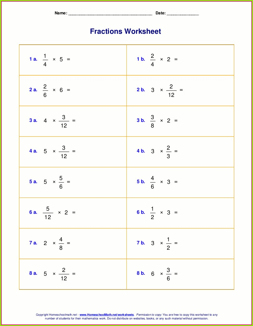 Whole Numbers Worksheets For Grade 6 Pdf