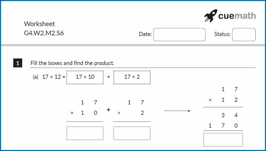 Worksheet Multiplication And Division Grade 2