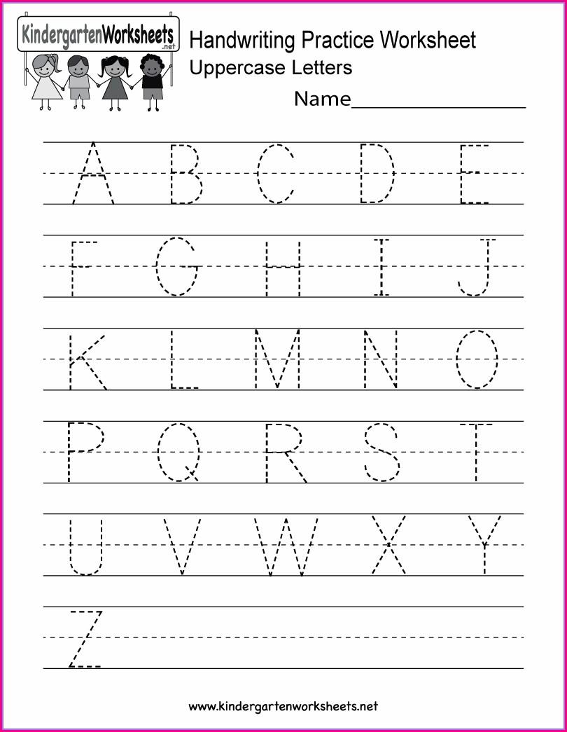 Worksheet On Kindergarten Phonics