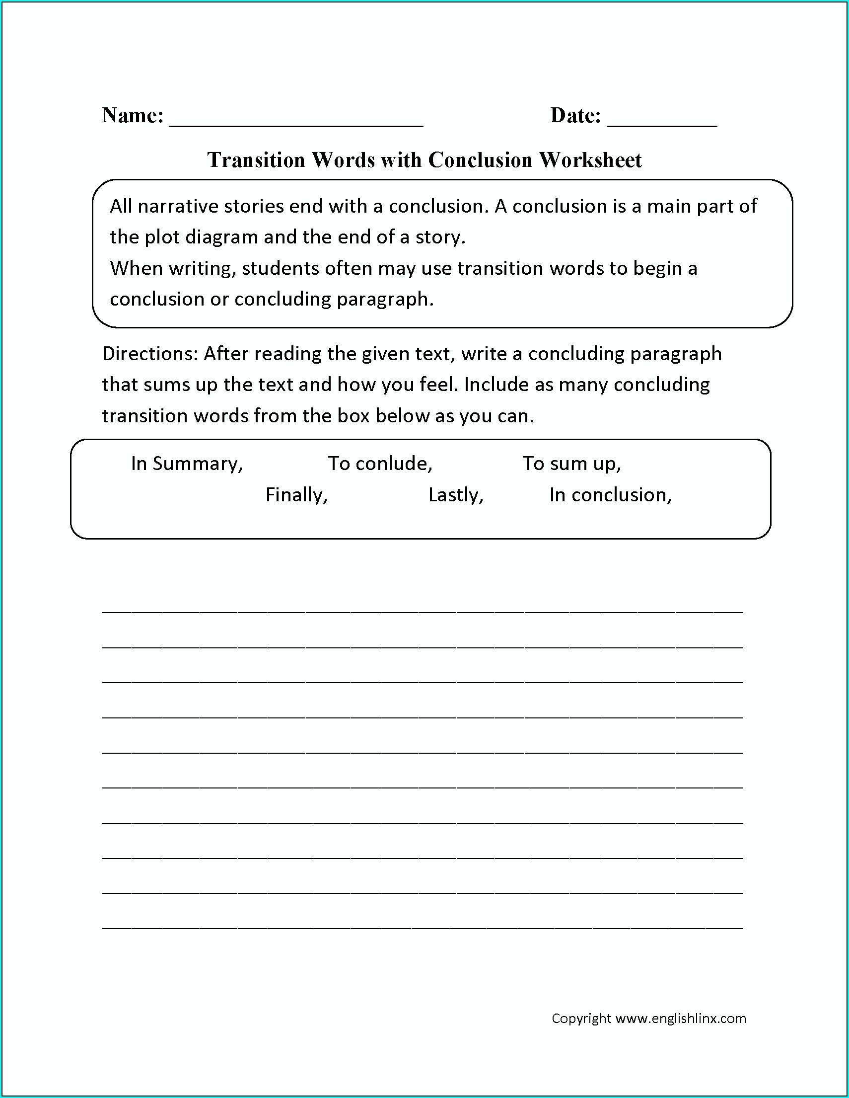 Worksheet Paragraph Writing Grade 2
