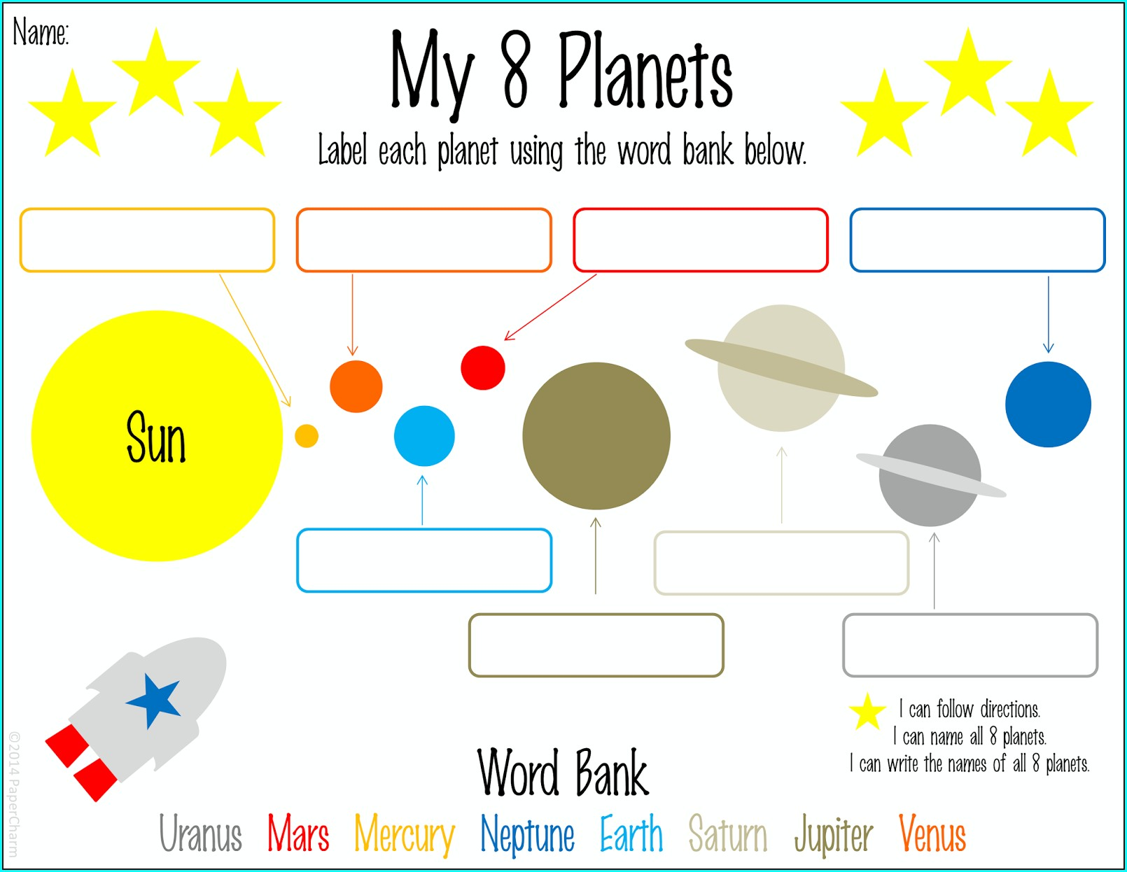 Worksheet Universe First Grade Worksheets