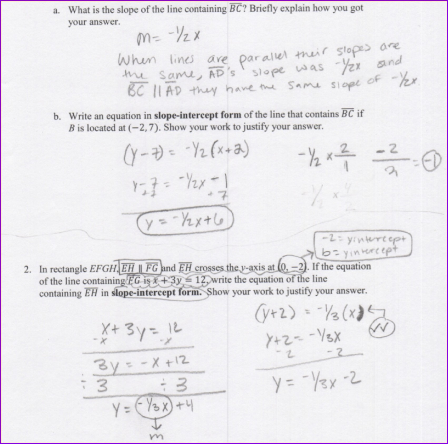 Writing Equations Of Lines Worksheet Worksheet Resume