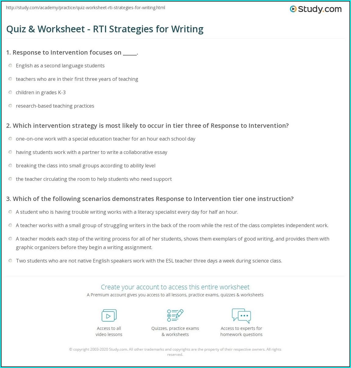 Writing Instructions Worksheet Year 1