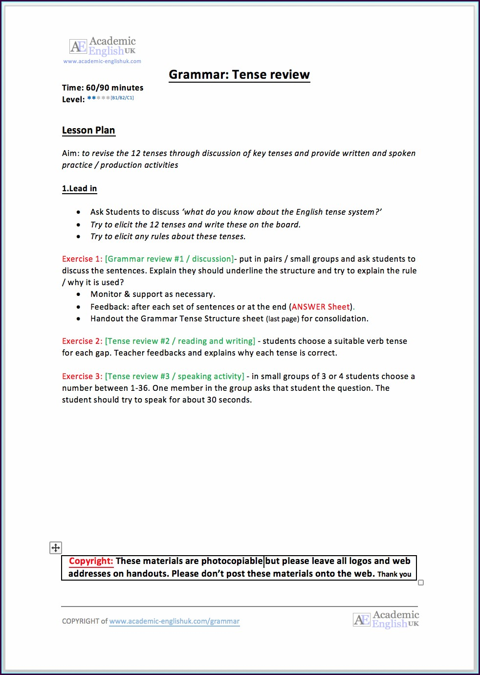 Writing Lead Sentences Worksheet