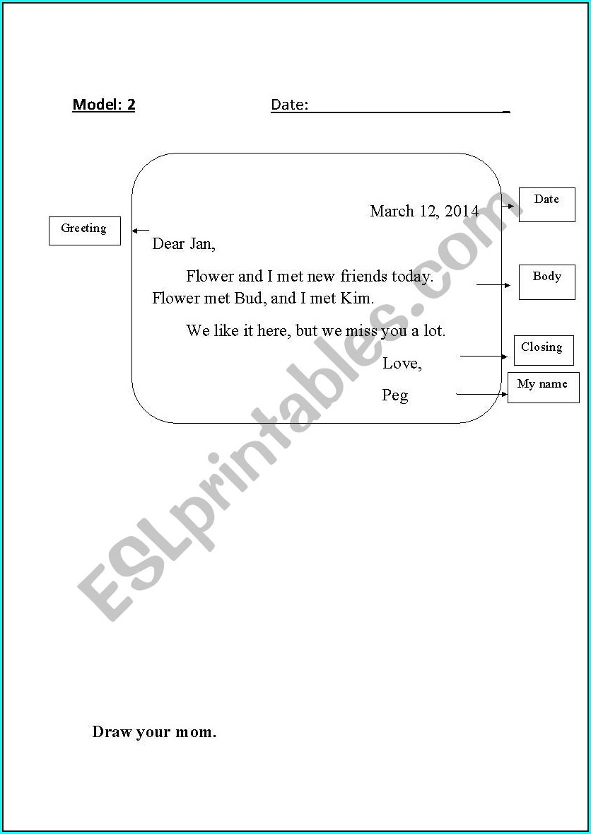 Writing Worksheet Grade 1