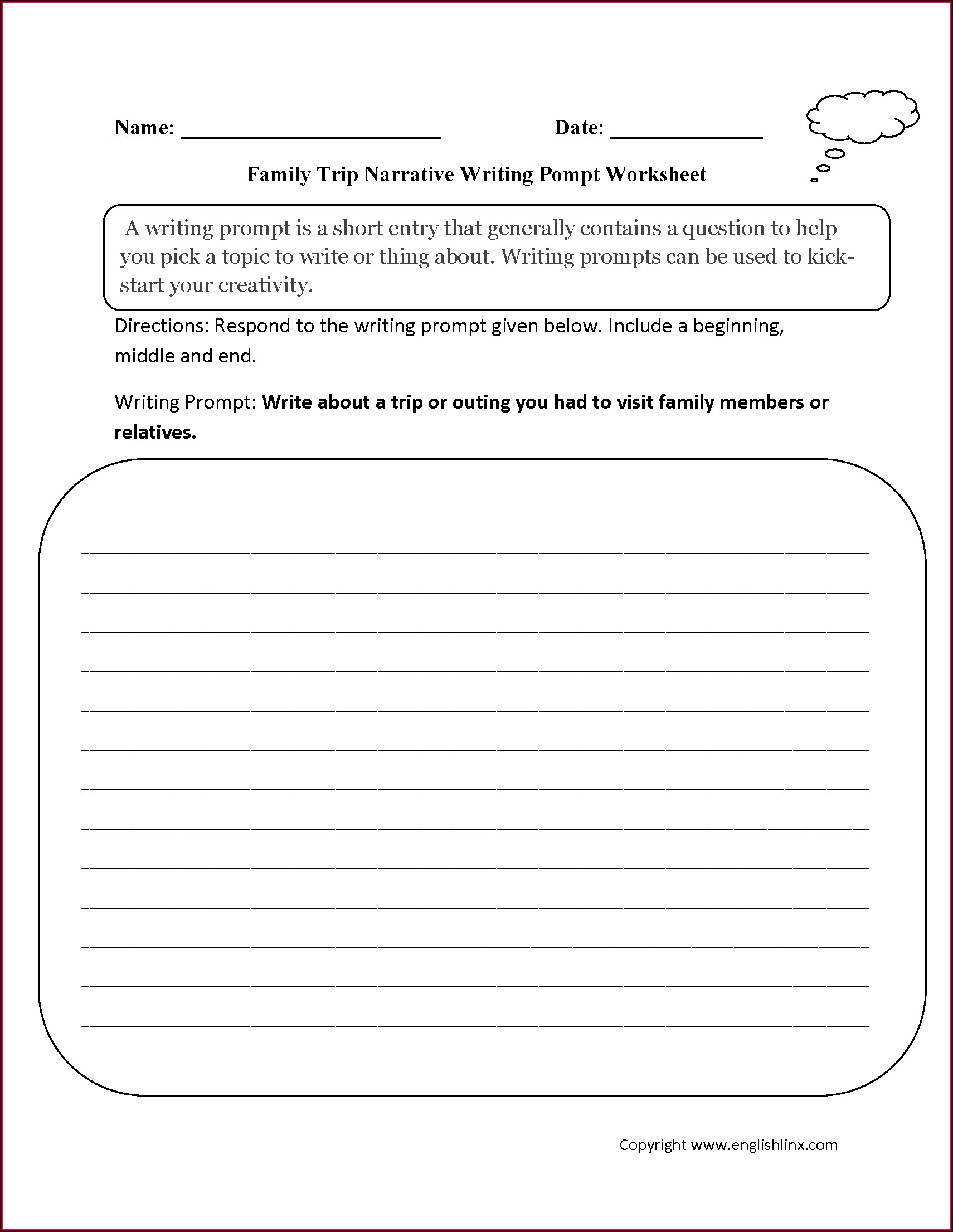 Writing Worksheets For Beginners Pdf