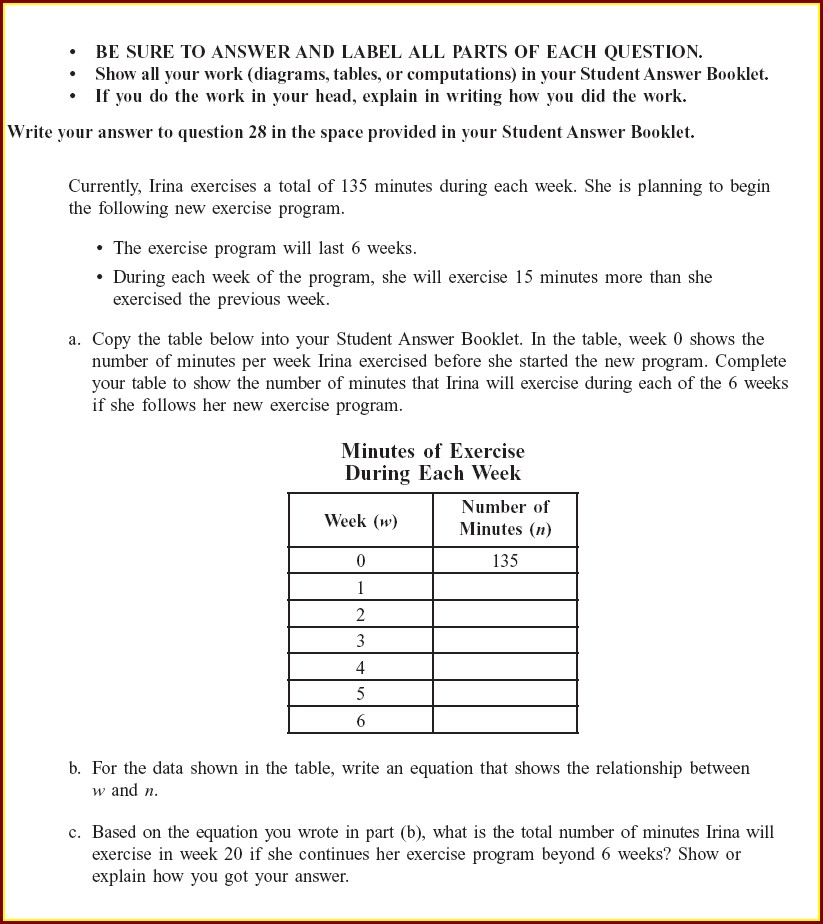 Year 8 Algebra Worksheets With Answers