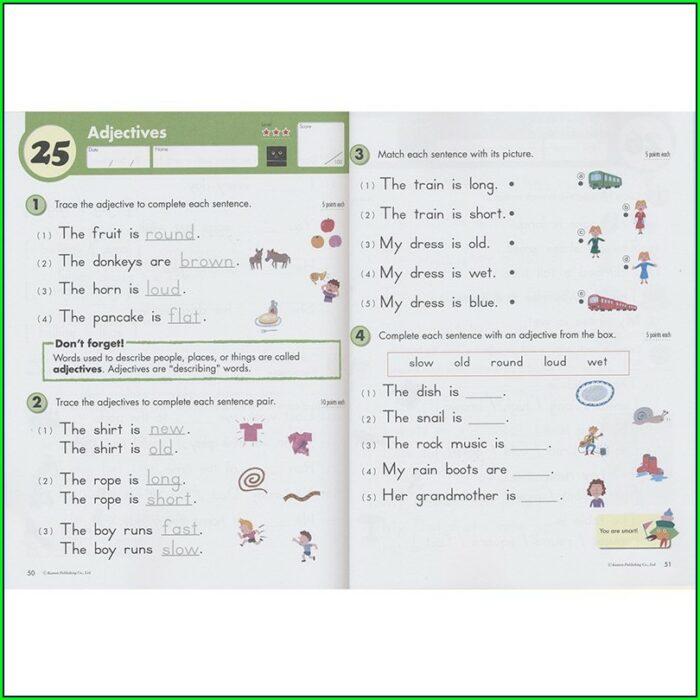 1st Grade Kumon English Worksheets