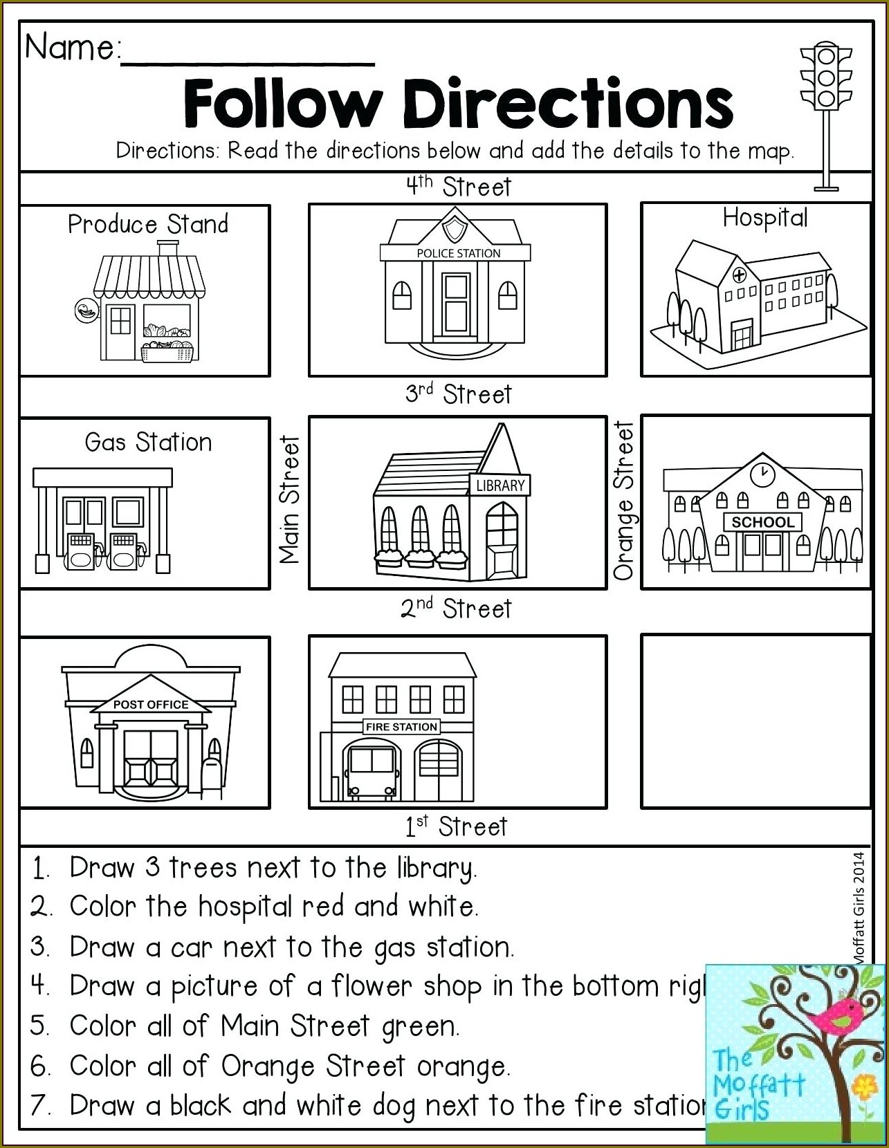 2nd Grade Free Geography Worksheets