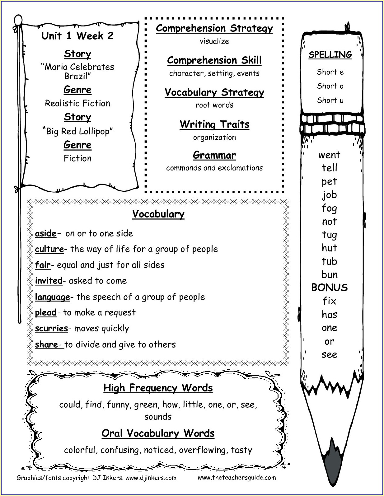 2nd Grade History Worksheets Pdf