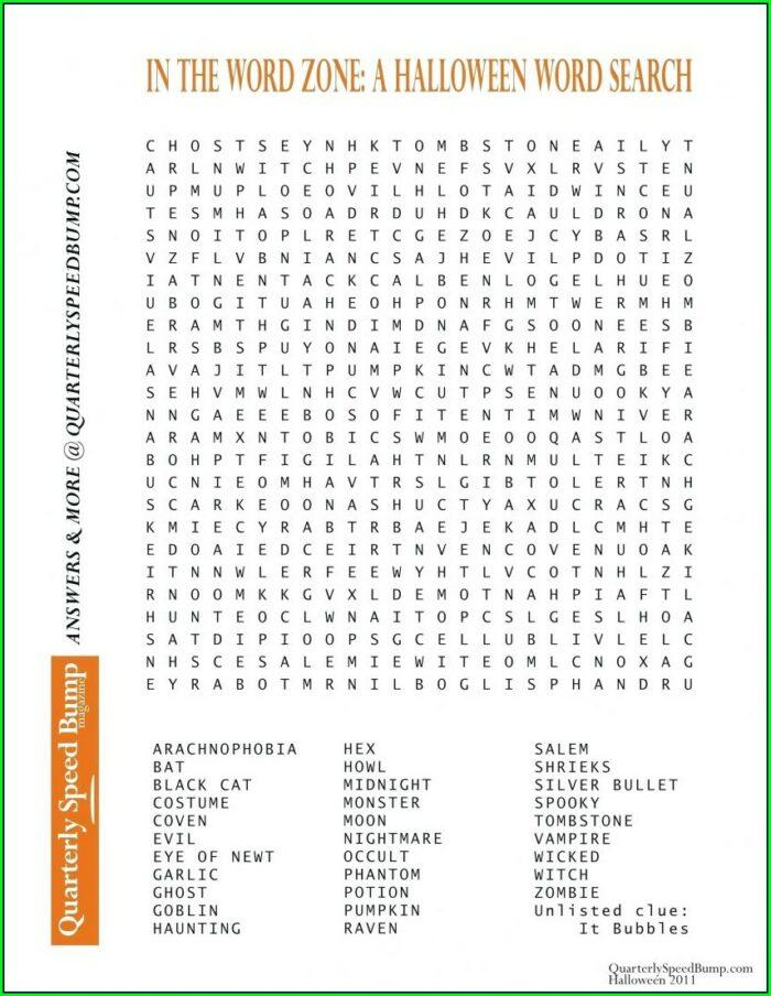 2nd Grade Large Print Word Search Printable