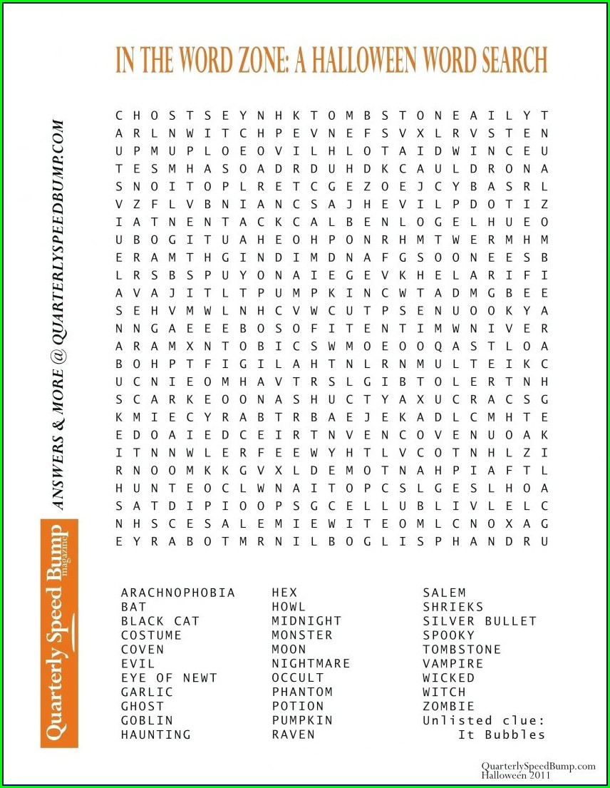 2nd Grade Large Print Word Search Printable