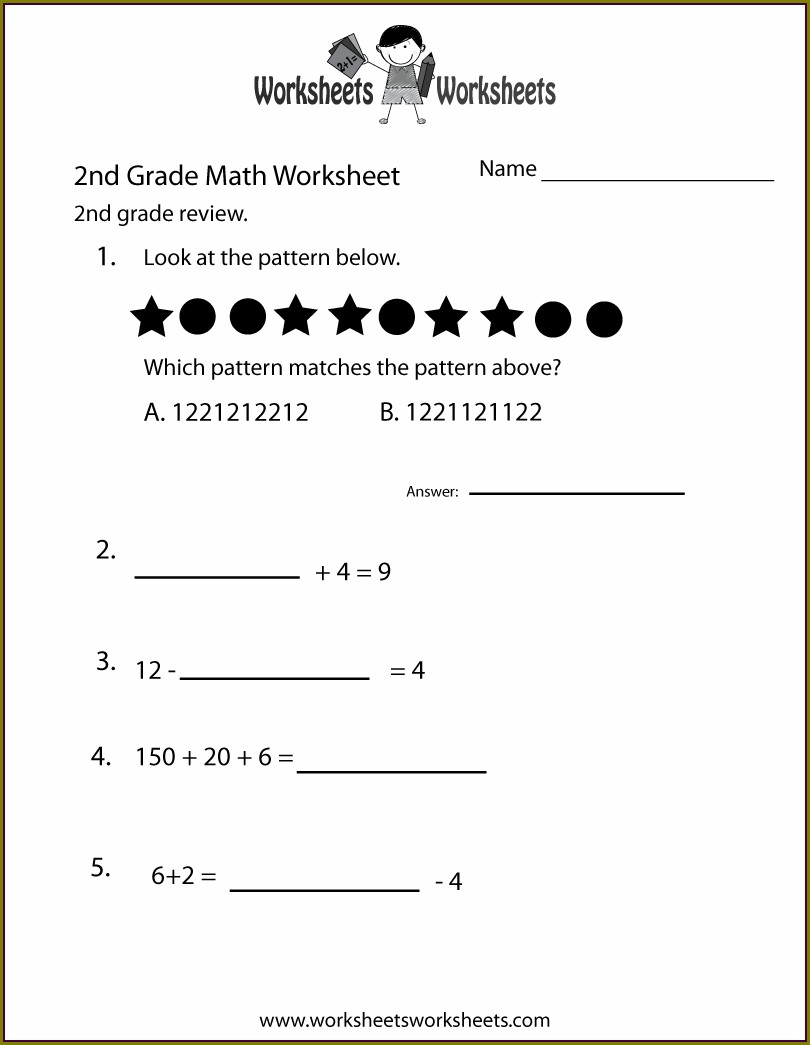 2nd Grade Math Worksheets In Spanish