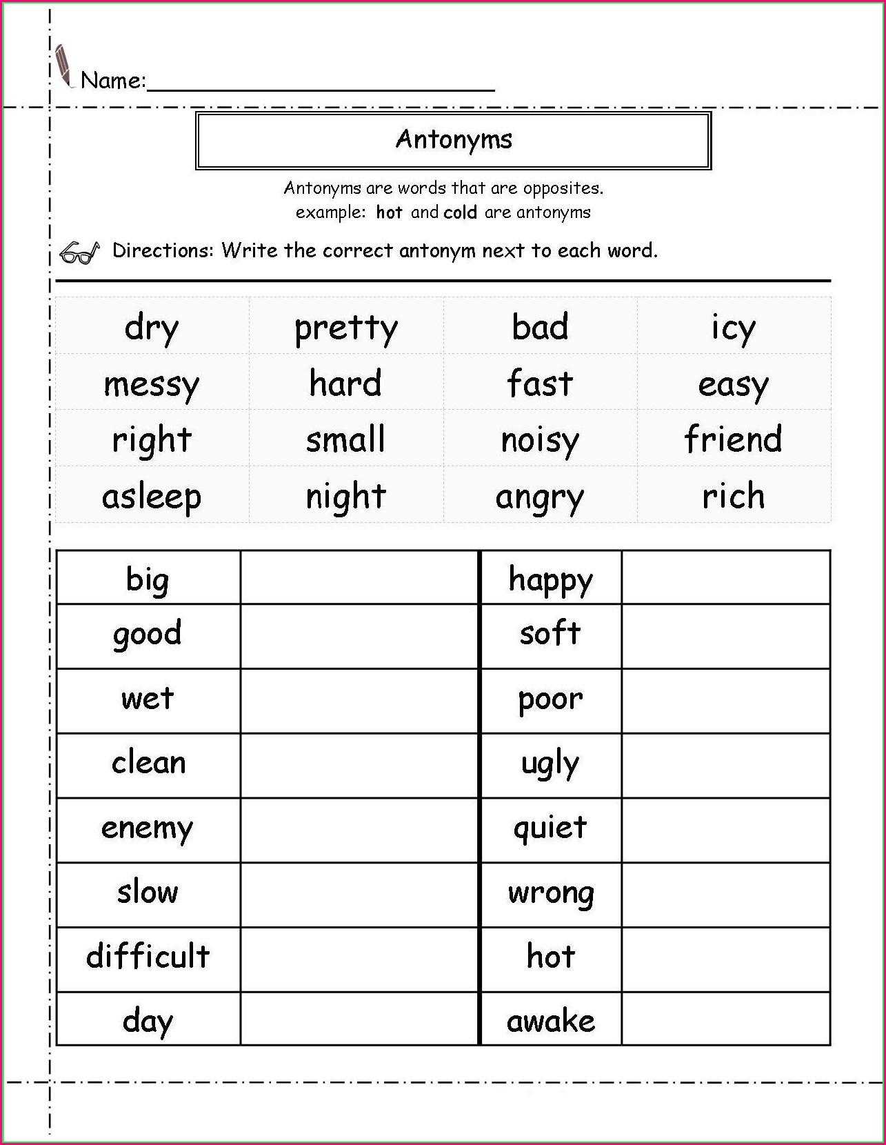 2nd Grade Us Map Worksheet